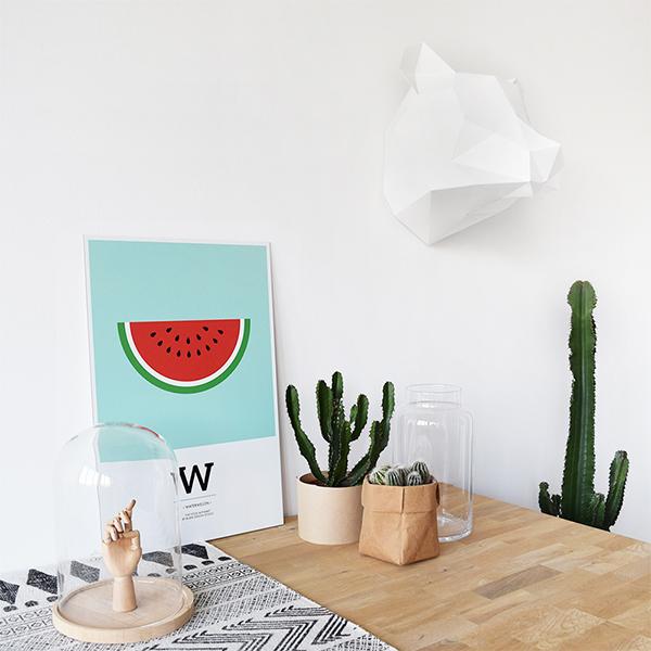 tableau pastèque