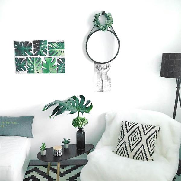 Tableau plante murale