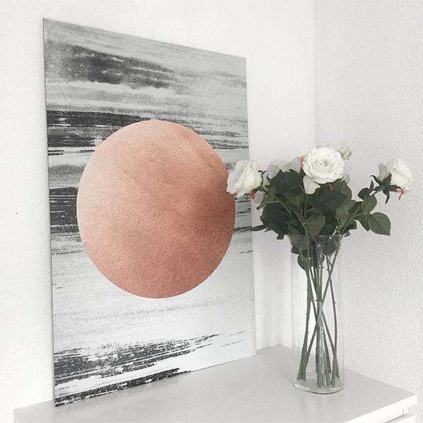 tableau rose gold