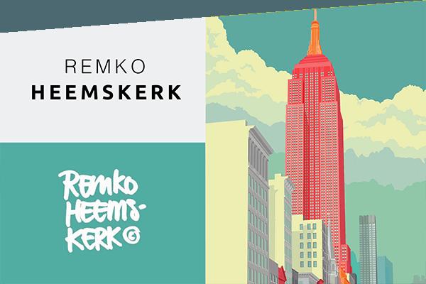 tableaux de l'artiste Remko Heemskerk